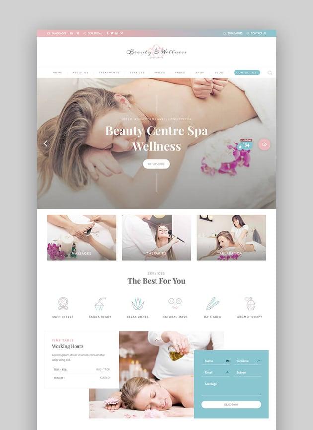 BeautyPack WordPress beauty theme