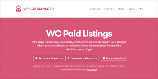 WC Paid Listings