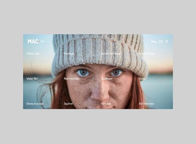 MAC Beautiful Full-Screen WordPress Theme