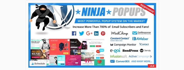 Ninja Popups WordPress Plugin