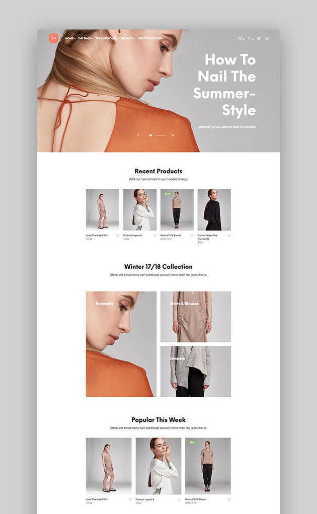 Shopkeeper e-commerce theme