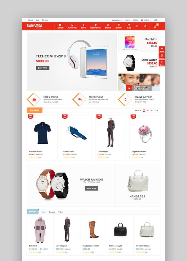 Super Shop WordPress Theme