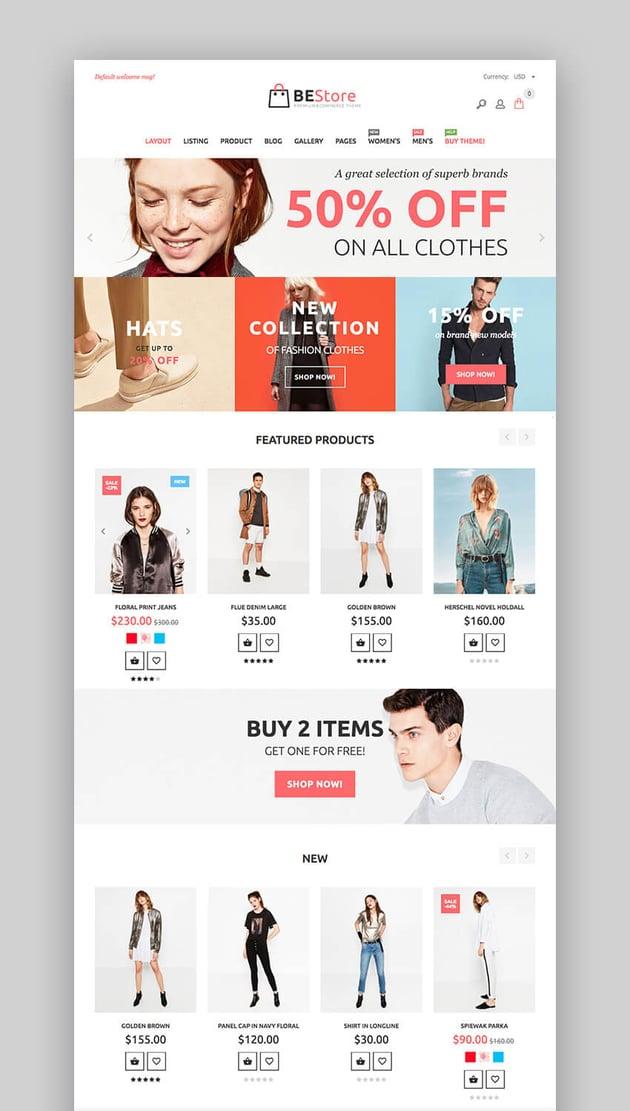 BeStore shopify theme