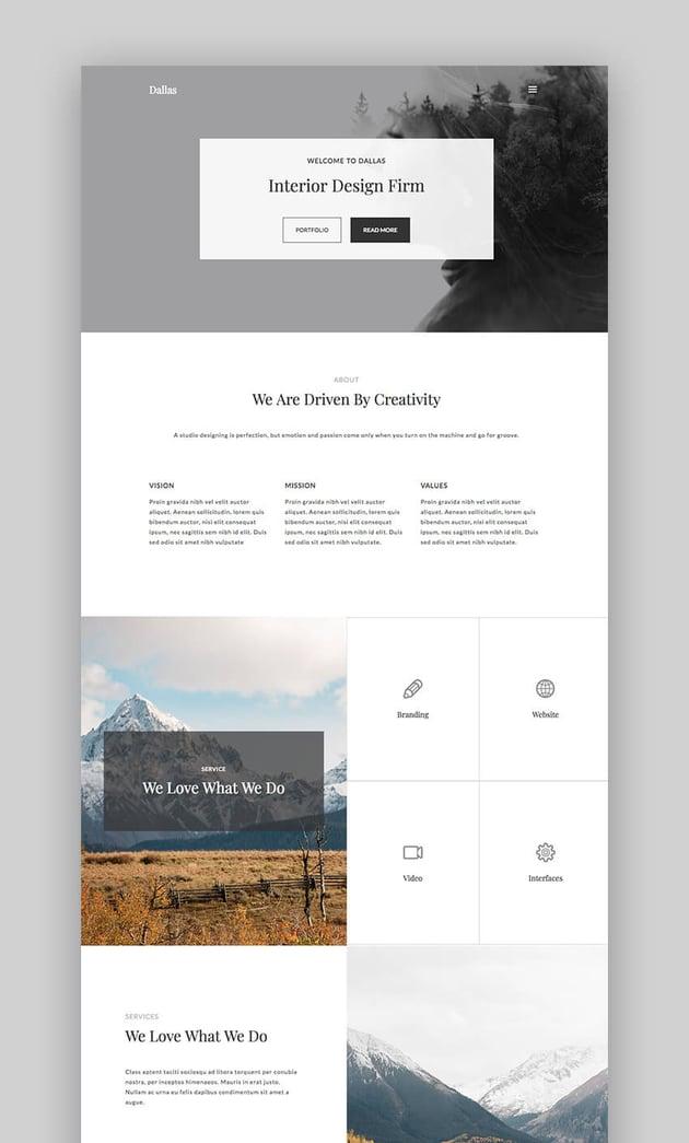Dallas WordPress Theme