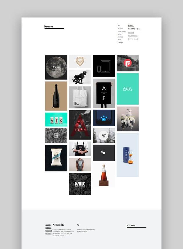 Krome WordPress Photography Theme