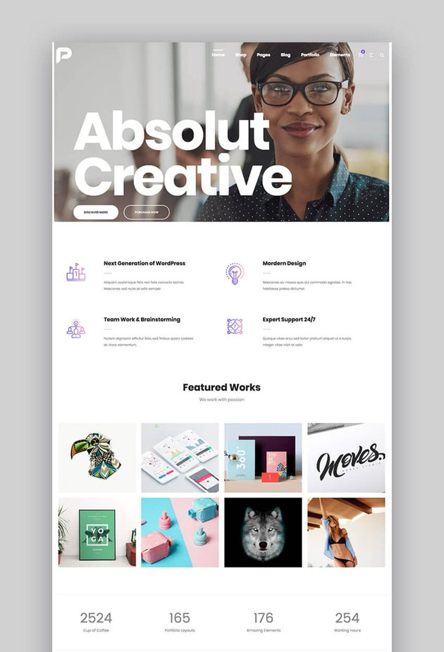 Pisces video WordPress theme