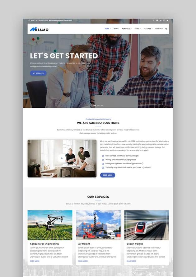 Kiamo Drupal Bootstrap theme