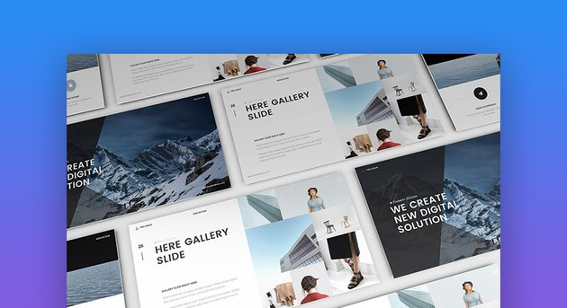 Mystify Creative and Clean Powerpoint Template