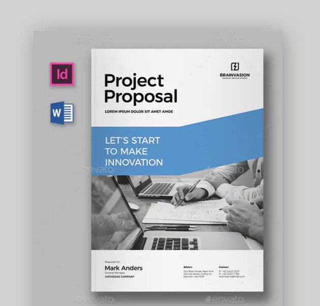 Proposal Template - Clean Business Proposal Template