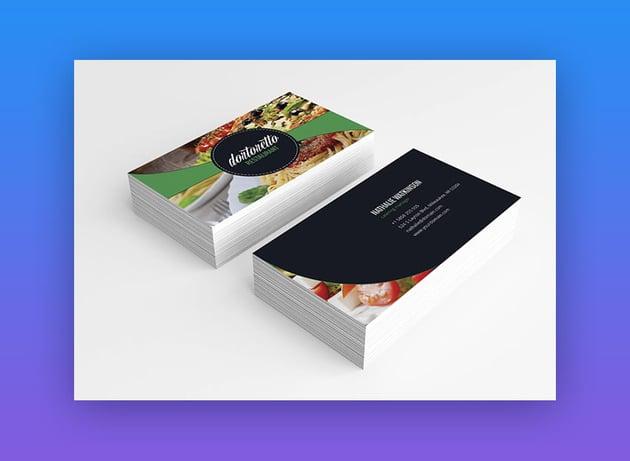 Dortoretto Business Card Template