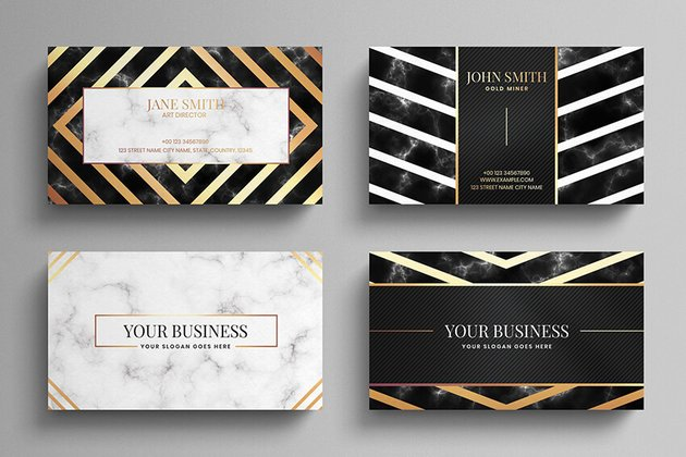 Luxury Business Card Template on Envato Elements