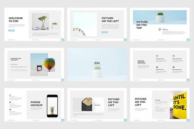 Ciri PowerPoint Template on Envato Elements