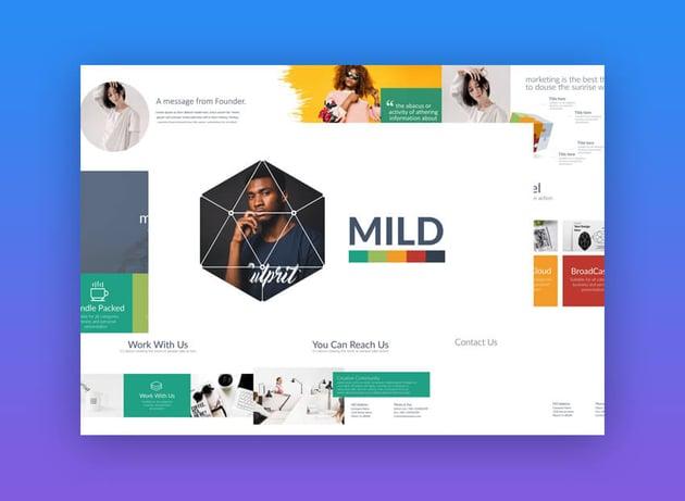 Mild - PowerPoint Presentation Template