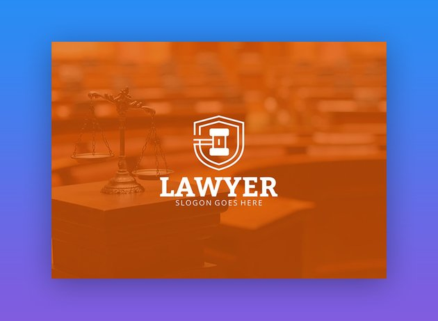 Law Firm logo template on Envato Elements