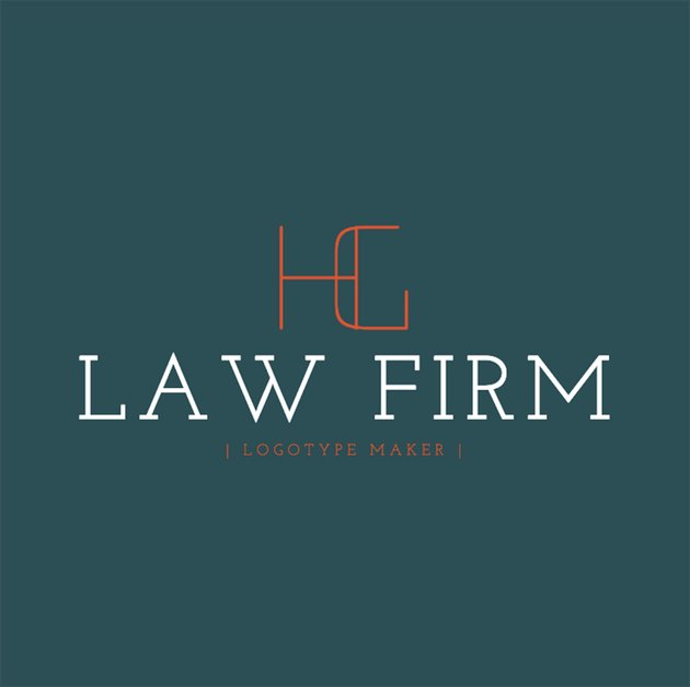 Legal Services Logo Maker for Monograms