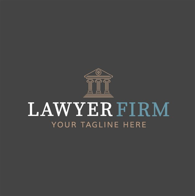 Online Logo Maker with Law Icons