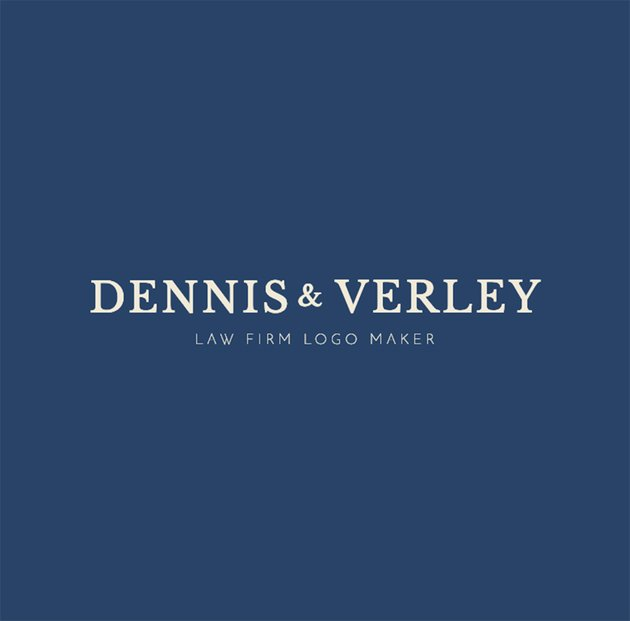 professional law firm logo template