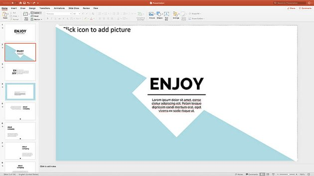 Colors and Fonts presentation styles PPT