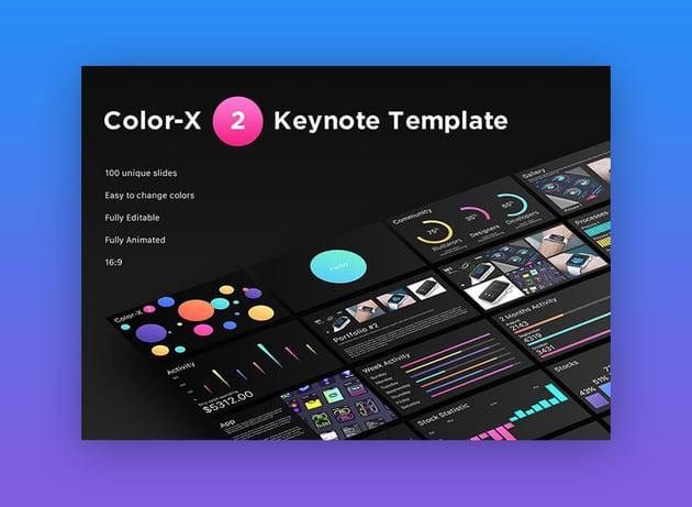 Color X-2 - Amazing Keynote Presentation
