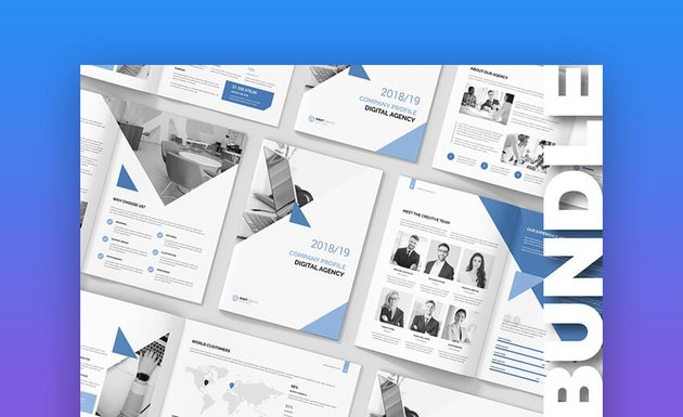 Digital Agency Company Proposal Template