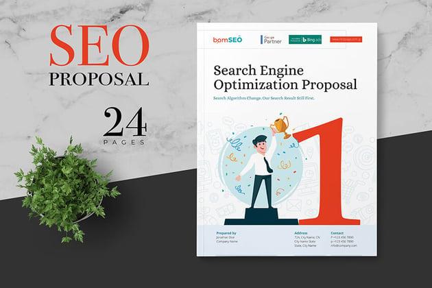 SEO Proposal on Envato Elements