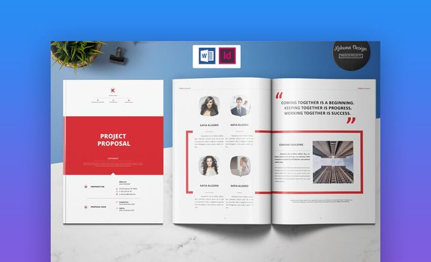 Project Proposal - Clean MS Word Business Proposal Template