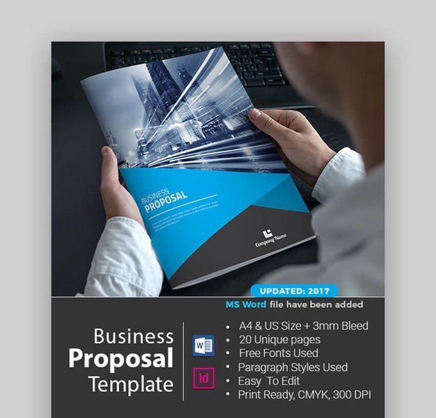 Proposal - Bold MS Word Business Proposal Template
