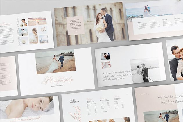Wedding Photography PPT Template