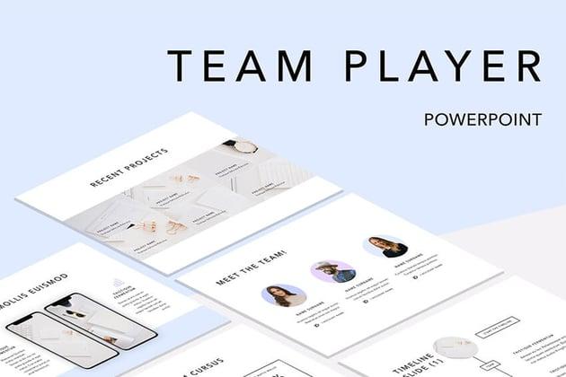 Team Player PPT Template