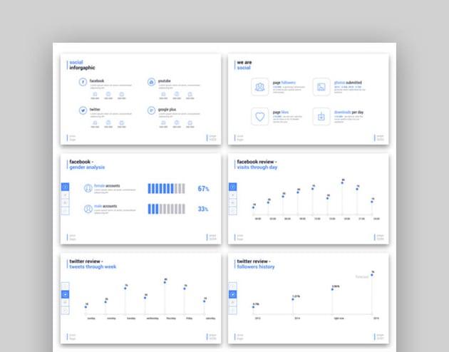Simplicity Flowchart PPT Template