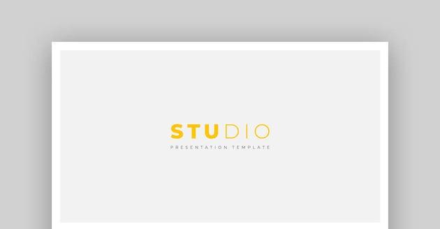 Studio - Vielseitige Mac Keynote-Vorlage