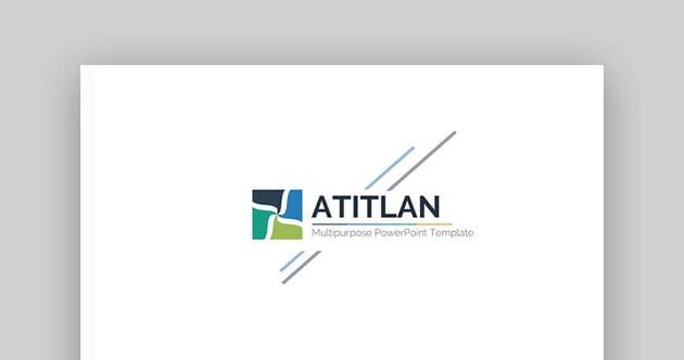 Atitlan - plantilla de pitch en PowerPoint