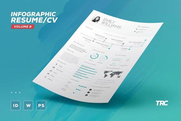 Infographic ResumeCV
