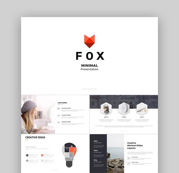 Fox - Ultimate PowerPoint Template for Teachers  Others