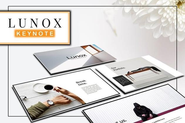 Lunox Keynote-Vorlage