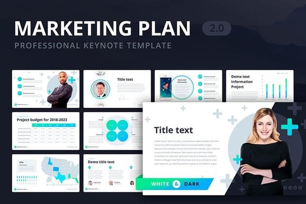 Marketingplan für Keynote