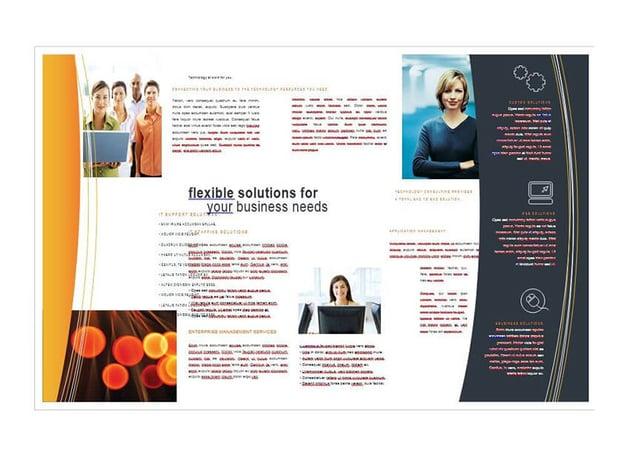 Free MS Word Brochure Template