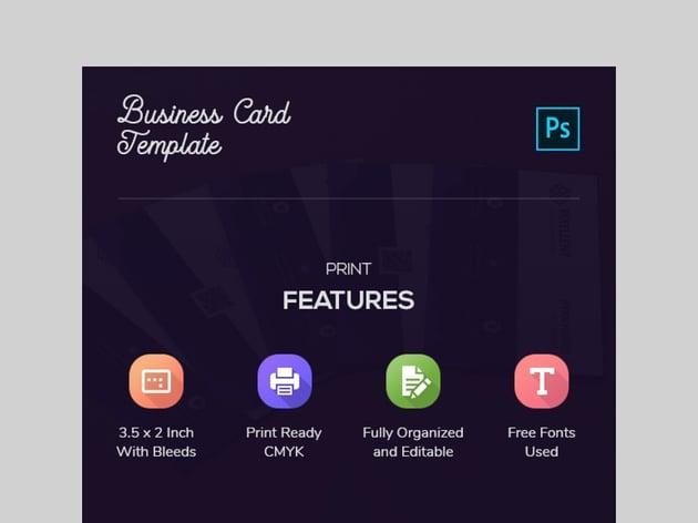 Business Card Template - Custom Business Card Design