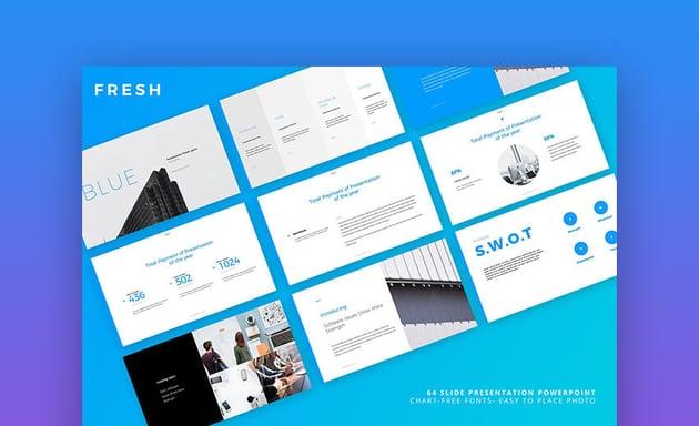 Fresh Presentation - Creative Resume Presentation