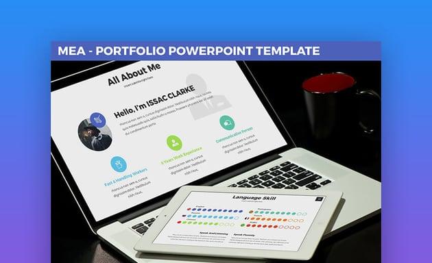 Mea - Resume In PowerPoint Format
