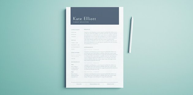 InDesign CV Template Free Download