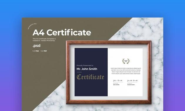 Certificate Template - Stylish Certificate Template