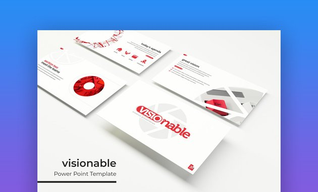 Visionable - Customizable PowerPoint Template