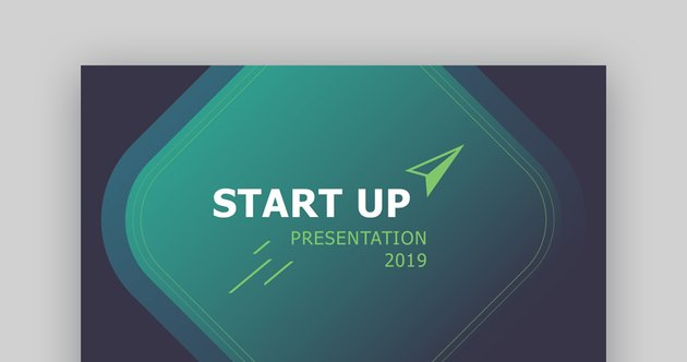 Startup - Custom PowerPoint Template