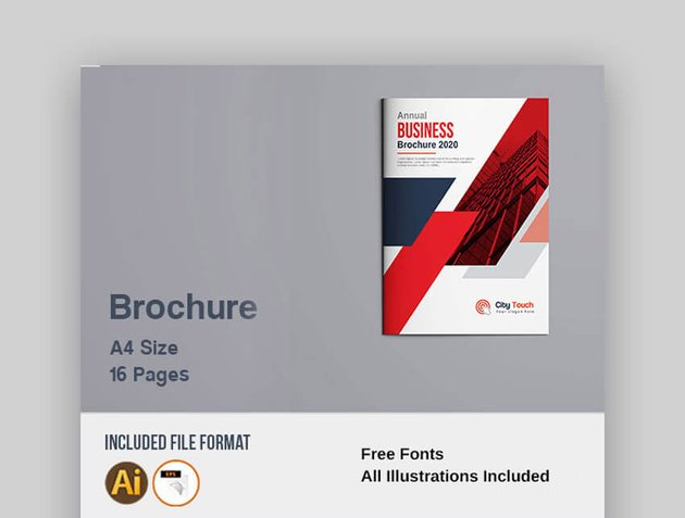 Brochure - Simple Corporate Brochure Design