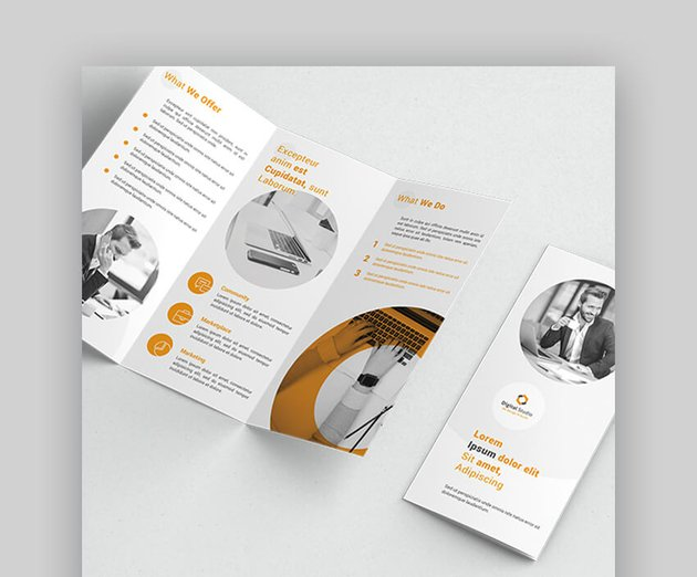 Trifold Brochure - Modern Brochure Layout