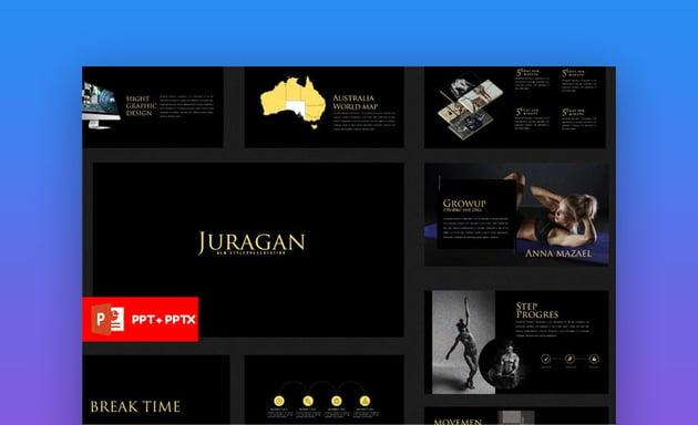 Juragan - Bold PowerPoint Template