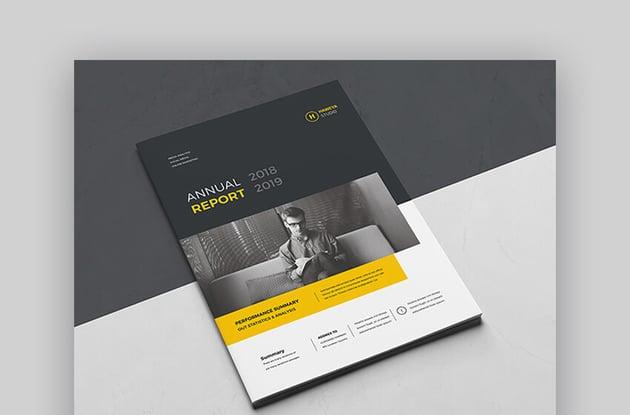 Annual Report - Versatile Template Design