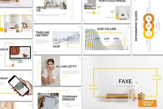 Faxe Google Slides Template