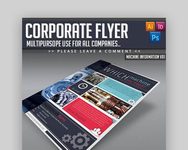 Corporate Flyer  Multipurpose Informational Template